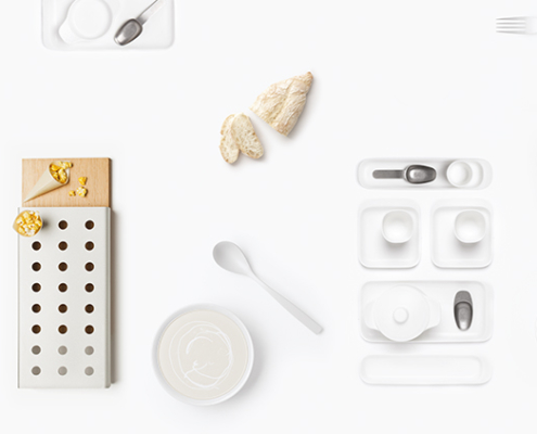 Collection of utensils Comas and Partners, messe Frankfurt 2020.